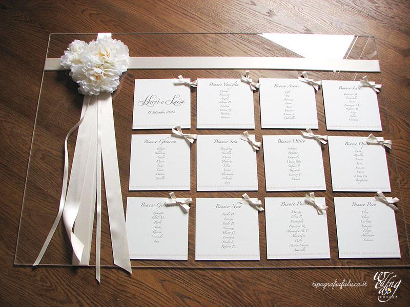 Favorito Tableau - Wedding Design Tipografia Falisca RK93